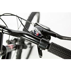 """Moma Bikes Bicicleta Montaña HIT 26""""Alu, SHIMANO 24V, Doble Freno Disco, Susp. Delant."""