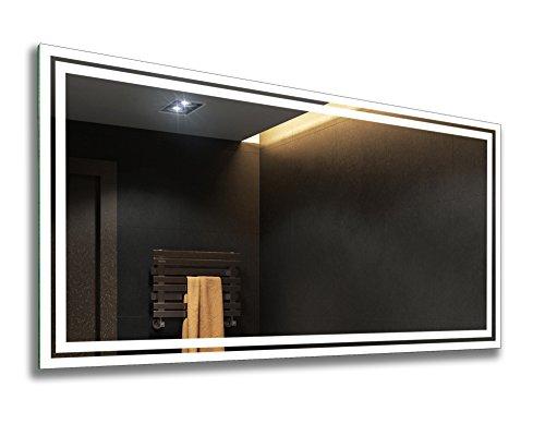 Espejo de Baño Moderno con la Iluminación LED 60x80cm