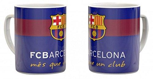 """'FC Barcelona Taza de café """"MÉS Que Un Club Barca Porcelana Taza Fan Artículo"""