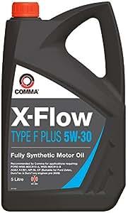 Comma XFFP5L Huile moteur synthétique X-Flow Type F Plus 5W30 5 l