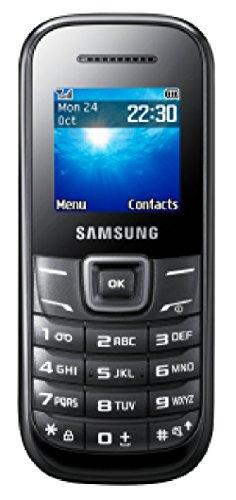 Mobiltelefon SAMSUNG ''E1200'' schwarz, vertragsfrei - ohne SIM-Lock