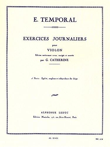 EXERCICES JOURNALIERS VOLUME 2 VIOLON