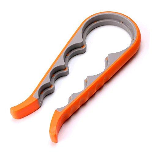 4in 1Multifunktions Schraubverschluss Jar Flasche Schlüssel Creative gebaucht Dosenöffner Schraube Küche Werkzeug 23CM*10CM Orange