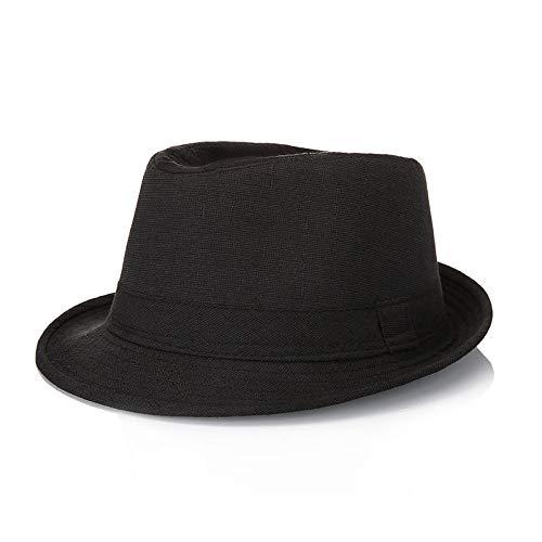 zhuzhuwen Sombrero Sombrero de Lino Protector Solar Sombrero para el Sol al Aire Libre 1 M (56-58cm)