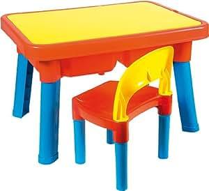 Androni giocattoli 8901 0000 tavolo multigioco con sedia for Tavolino plexiglass ikea