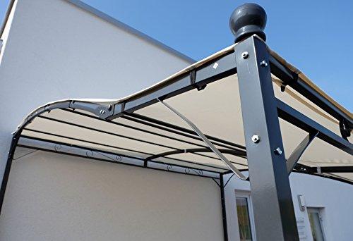 wand anbau pavillon 3 x 2 5 meter mit dach model siena. Black Bedroom Furniture Sets. Home Design Ideas