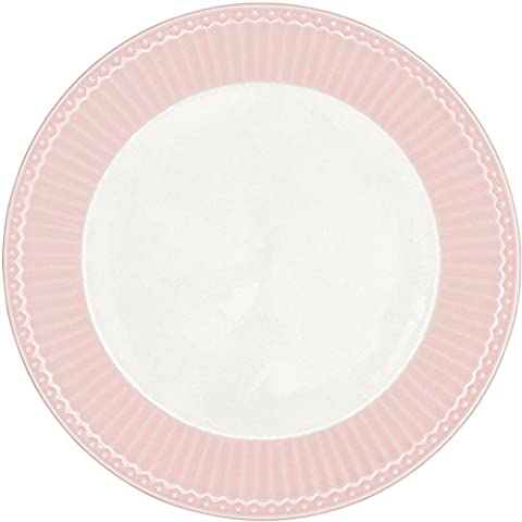 GreenGate Teller - Plate - Alice Pale Pink 20,5 cm
