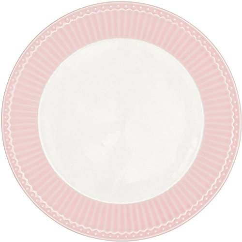 GreenGate Teller - Plate - Alice Pale Pink 20,5 cm Alice Teller