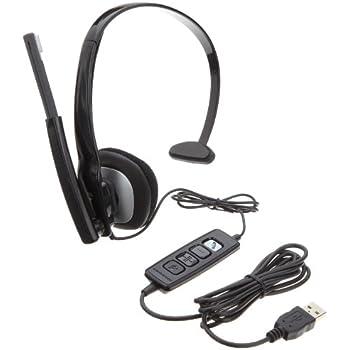 Plantronics 80298-02 Blackwire C210 MOC Monoraul USB Corded Headset
