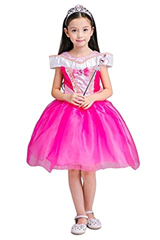 Thor Halloween Costume Fille - YMING Filles Rose Robe Princesse Robe Cosplay