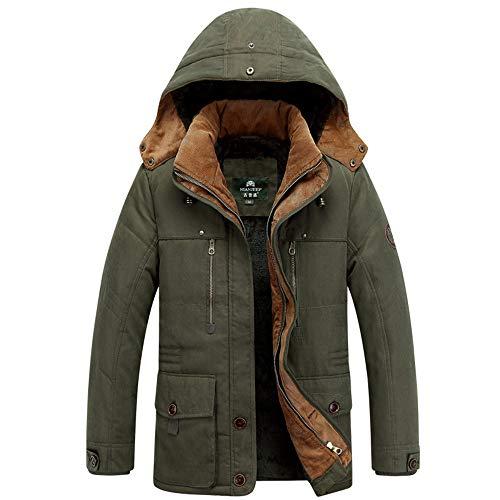 Männer Winter Camouflage Bluse Verdickung Mantel Warme Outwear Top Bluse Langarm Hardshelljacken Plus Size Winterjacke Baumwolle Mäntel Jacken Outdoorjacke Parka Felicove