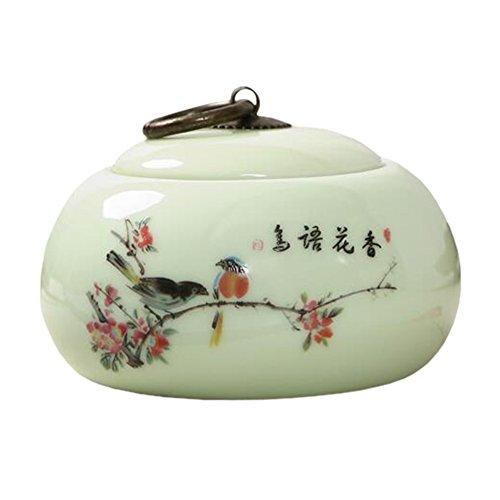 Chinesische Tee / Kaffee Container Keramik Topf S??igkeiten / Snacks / Cookies Topf Lagerung Flaschen NO.27