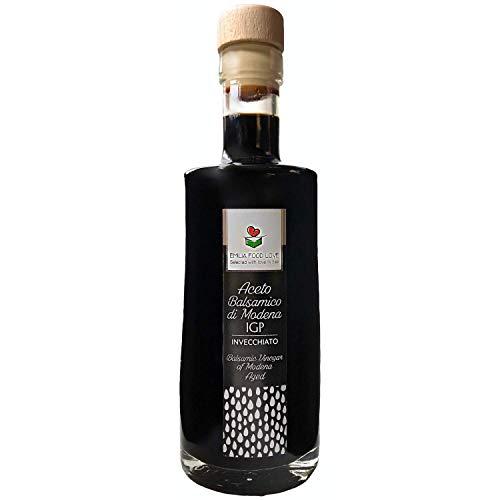 Balsamico Essig aus Modena g.g.A. Gealtert - Balsamessig Made in Italy - EMILIA FOOD LOVE - Aceto Balsamico di Modena IGP Invecchiato
