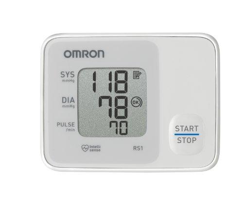 Omron Handgelenk-Blutdruckmessgerät RS 1