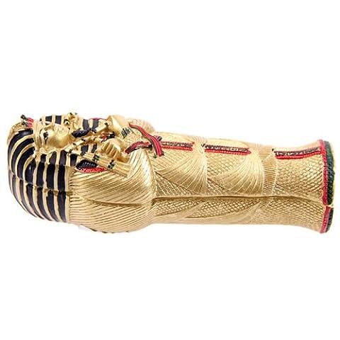 Doré égyptien Toutankhamon sarcophage Boîte à bijoux avec