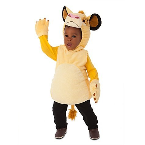 Disney Store Simba The Lion King Plush Halloween Costume For Boys: Toddler Size 2T by Disney