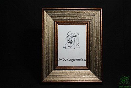 donregaloweb-portafotos-garniture-en-bois-clair-dans-les-tons-marron-et-or-pour-les-photos-13x18-cm-
