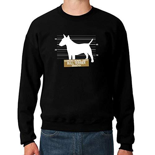 Idakoos Correctional DEPT Bull Terrier Sweatshirt M Bull Terrier Sweatshirt