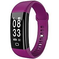 samLIKE 丨 F09 Smart Watch 丨 Blutdruck Sauerstoff Herzfrequenzmesser 丨 Fitness Tracker 丨 IP68 Wasserdicht (Tiefe 30M) 丨 für IOS 7.1 ✚ andorid 4.4 und höher 丨 16mm x 266mm(Max)丨 Sport Armband 丨【 Die coolste Smartwatch dieses Jahr ⭐️】