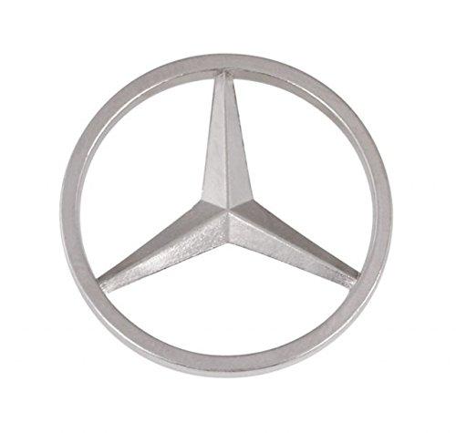 Ten Mercedes-Platte d=23mm cod.EL24410 cm 2,3x2,3x0,2h by Varotto & Co. (Mercedes-platte)