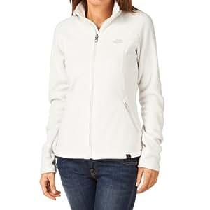 The North Face Women's W 100 Glacier Full Zip Fleece Jacket Moonlight Ivory Size:S / 10