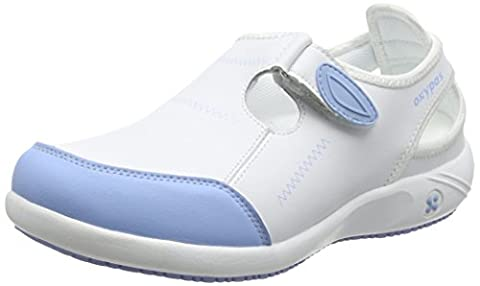 Oxypas Lilia, Women's Work Shoes, Blue (Light Blue), 5 UK (38 EU)