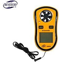 Topker GM8910 Anemómetro digital, Anemómetro de enfriamiento por viento GM8910, Probador de presión barométrica GM8910, Anemómetro de punto de rocío, Anemómetro digital multifuncional