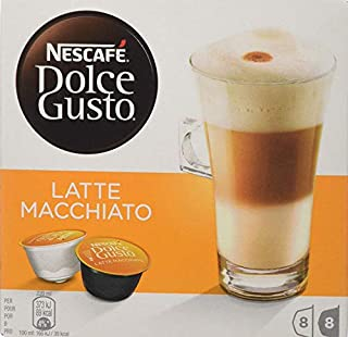 NESCAFÉ Dolce Gusto Latte Macchiato Coffee Pods 16 Capsules (Pack of 3 - Total 48 Capsules, 24 Servings). (B000ODTPOK) | Amazon price tracker / tracking, Amazon price history charts, Amazon price watches, Amazon price drop alerts