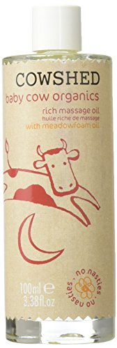 Cowshed Baby Cow Organics Rich Massage Oil 100ml