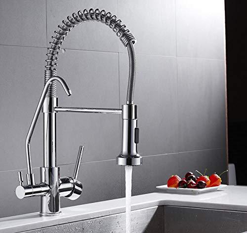 Rubinetto per acqua kitchen faucet rubinetto per acqua potabile rubinetto per cucina a rotazione a 3 vie rubinetto per cucina rubinetto per acqua pura