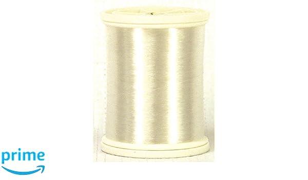 0,12/mm/ Format /5/486,4/m C/ône gcs Invisible en Nylon Blanc Fil /à Coudre