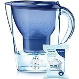 Brita 219185 Caraffa Filtrante Marella XL, 2 litri di acqua filtrata
