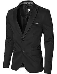 MODERNO - Slim Fit Business Herren Sakko Blazer (MOD14517B)