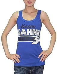 Stock para mujer Kasey Kahne #5 pwshop cuello redondo-T-Shirt (vintage look), NASCAR, mujer, color Azul - azul, tamaño S