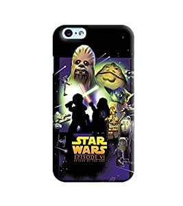 Blue Throat Star Wars Episode Vi Printed Designer Back Cover/Case For Apple iPhone 6s Plus