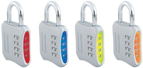 Master Lock 653EURD - Candado con combinación numérica (50 mm), vari