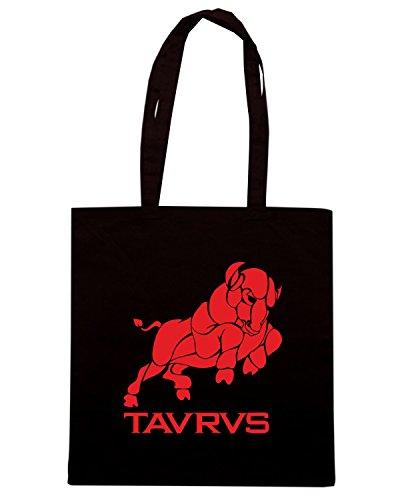 T-Shirtshock - Borsa Shopping T0221 toro religioni celtic Nero