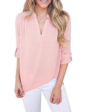 Lueyifs Camisas - Básico - Para Mujer
