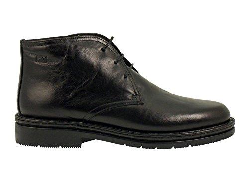 Fluchos, Black Chaussures À Lacets Pour Hommes