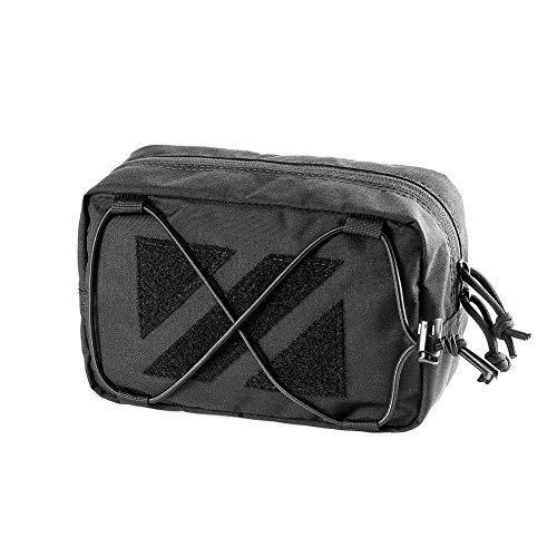 OneTigris Horizontal MOLLE Pouch EDC Tasche MONZTER Utility Laser-Cut X-Bungee Organizer |MEHRWEG Verpackung Horizontale Fashion Pouch