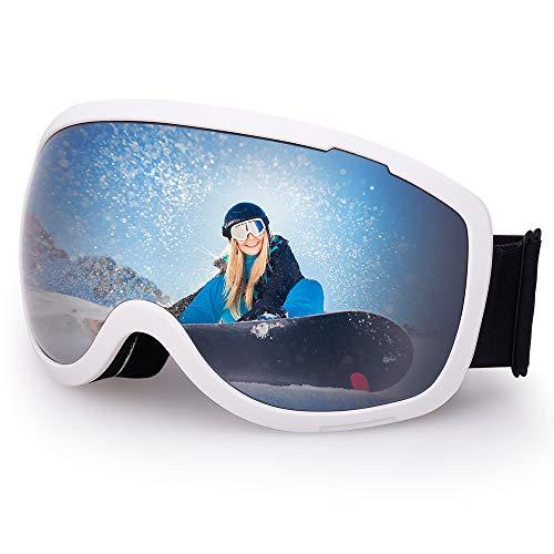 Avoalre Gafas Esquí Máscara Snowboard Nieve Espejo