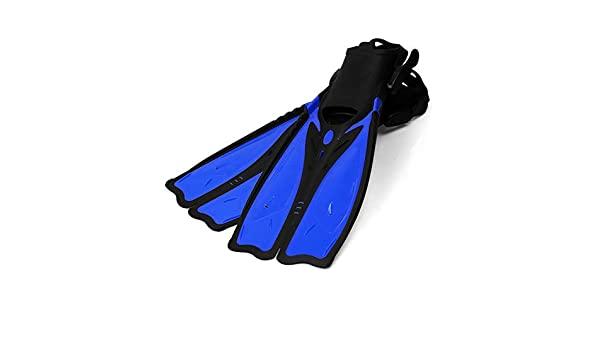 BaronHong Snorkel Fins,Swim Fins Travel Size Short Adjustable for Snorkeling Diving Adult Men Womens Open Heel Swimming Flippers