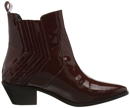 Pepe Jeans DINA NEW ELASTIC, Bottes Classiques femme Rouge - Rot (Burgundy 299)
