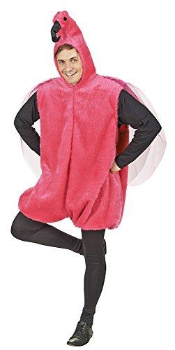 Flamingo Kostüm für Erwachsene - Tolles Partner- oder Familienkostüm mit Thema Vogel, Tierwelt oder (Kostüme Flamingo Erwachsene)