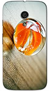 Timpax protective Armor Hard Bumper Back Case Cover. Multicolor printed on 3 Dimensional case with latest & finest graphic design art. Compatible with Motorola Moto -G-2 (2nd Gen )Design No : TDZ-24073