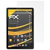 atFolix Schutzfolie für Samsung Galaxy Tab S4 10.5 Displayschutzfolie - 2 x FX-Antireflex blendfreie Folie