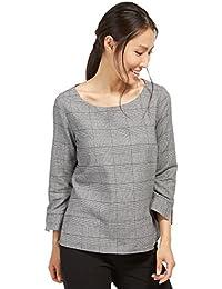 TOM TAILOR für Frauen Shirt / Blouse fein karierte Bluse