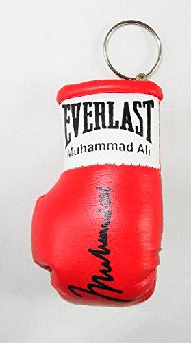 Signiert Mini Boxhandschuh Schlüsselanhänger Muhammad Ali