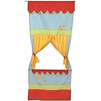 roba-kids Teatro de guiñol de tela para puerta, multicolor (Roba Baumann 7101)