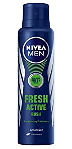 Nivea Fresh Active Rush Deodorant,150ml